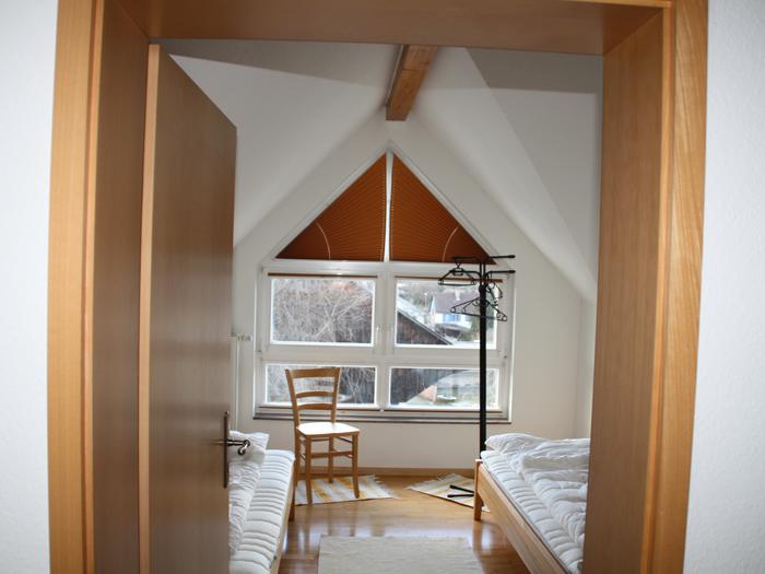 Schlafzimmer klein - Weingut C. Lang